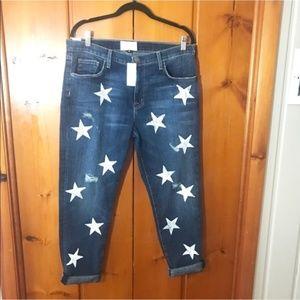 Current/Elliott | The Fling Star Boyfriend Jeans